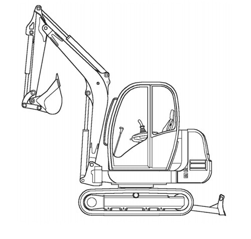 Free Gehl 602 Compact Excavator Illustrated Master Parts List Manual Instant Download! (Form No.918041 Revision B) Download thumbnail