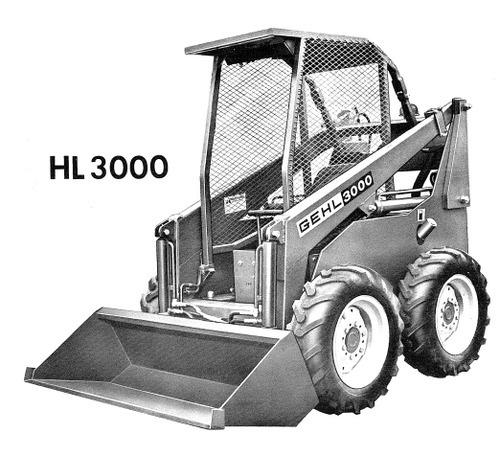Free GEHL 3000 Series Skid-Steer Loader Illustrated Master Parts List Manual Instant Download!(HL3000 Form No.901939) Download thumbnail