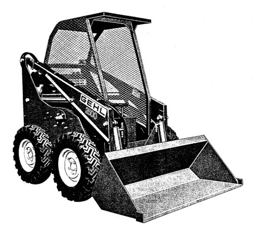 Free GEHL HL2500A HL 2500A Loader Illustrated Master Parts List Manual Instant Download!(Form No.901572 Replaces 901353) Download thumbnail