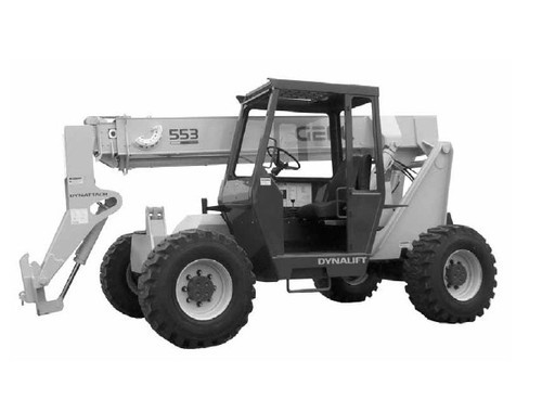 Free Gehl 552 553 Dynalift Telescopic Boom Forklift Illustrated Master Parts List Manual Instant Download! Download thumbnail