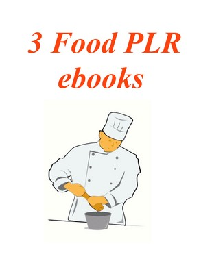 Pay for 3 PLR ebooks on Food plus Bonuses