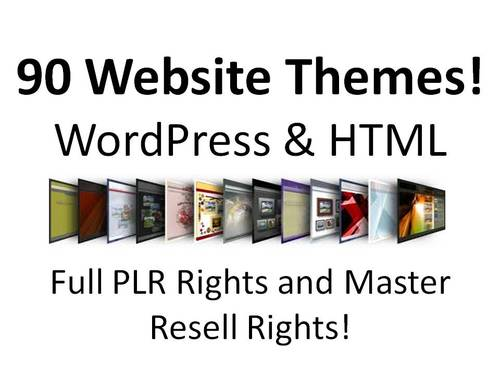 Pay for 90 Website Themes