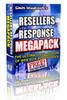 Thumbnail Resellers Response MegaPack + 25 FREE Reports ( Bargain Hunter Warehouse )