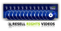 Thumbnail Resell Rights Training Videos Part 3 of 12