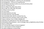 Thumbnail Stress - 19 Premium Quality PLR Articles Package 19