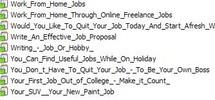 Thumbnail 9 Job PLR Articles Vol. 10 + 25 FREE Reports ( Bargain Hunter Warehouse )