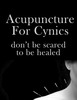 Thumbnail Acupuntcure for Cynics - Don't be Scared to be Healed.