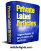 Thumbnail Training PLR Articles (1,140) includes resell rights