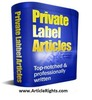 Thumbnail 1,667 School PLR Articles. ArticleRights.com
