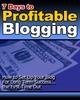 Thumbnail 7 Days to Profitable Blogging ( Bargain Hunter Warehouse )