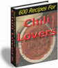 Thumbnail 600 Recipes for Chili Lovers Cookbook