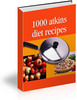 Thumbnail 1000 Atkins Diet Recipes Cookbook