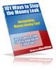 Thumbnail 101 Ways to Stop the Money Leak BARGAIN HUNTER WAREHOUSE