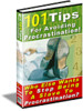 Thumbnail 101 Tips Avoid Procrastination BARGAIN HUNTER WAREHOUSE