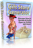 Thumbnail Gift Store Generator   Quickly Open An Online Gift Store + 25 FREE Reports ( Bargain Hunter Warehouse )