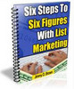 Thumbnail Six Steps To Six Figures + 25 FREE Reports ( Bargain Hunter Warehouse )