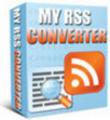 Thumbnail My RSS Converter + 25 FREE Reports ( Bargain Hunter Warehouse )