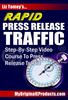 Thumbnail Rapid PRESS RELEASE Traffic + 25 FREE Reports ( Bargain Hunter Warehouse )