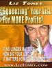 Thumbnail Squeezing Your List for More PROFITS! + 25 FREE Reports ( Bargain Hunter Warehouse )