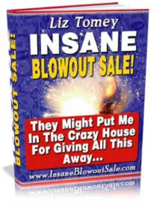 Pay for Insane Blow Out Sale Secrets + 25 FREE Reports ( Bargain Hunter Warehouse )