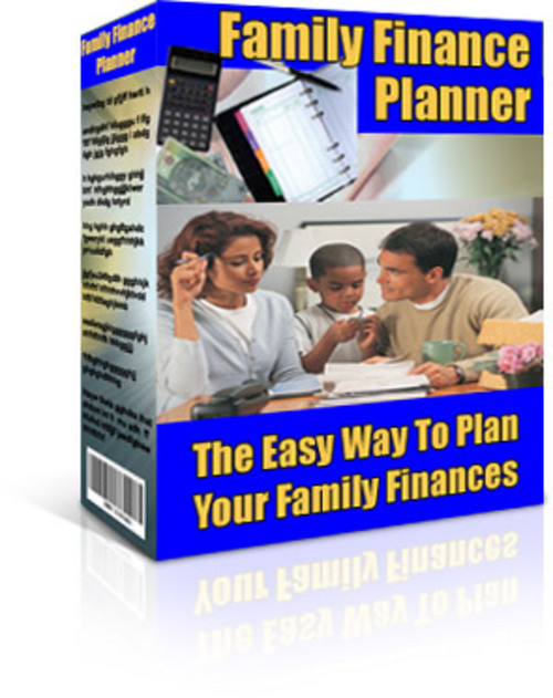 Pay for Family Finance Planner + 25 FREE Reports * ( Bargain Hunter Warehouse )