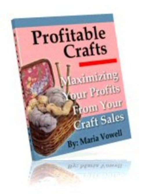 Pay for Profitable Crafts Volume 1,2,3,4 with Master Resell Rights