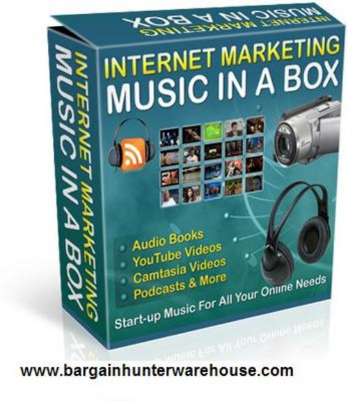 Pay for Internet Marketing Music Clips Vol. 1 w/Resell Rights