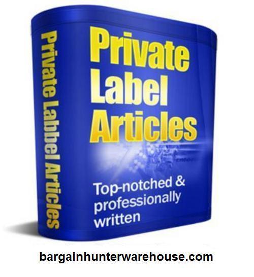 Pay for 3,757 Business PLR Articles - BargainHunterWarehouse.com