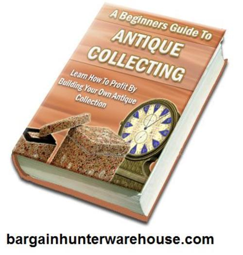 Pay for A Beginners Guide to Antique Collecting mp3 audio 5 HOURS