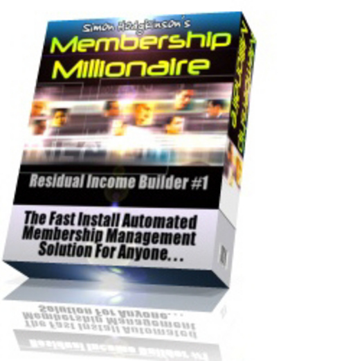 Pay for Membership Millionaire - How to Make Online Profits 24/7