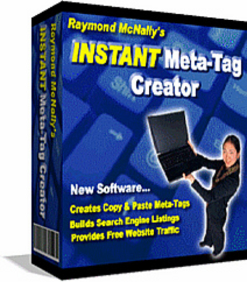 Pay for *NEW* Instant Meta Tag Creator | INSTANT META Tag Maker SOFTWARE| Building Free And Effective Search Engine Listings