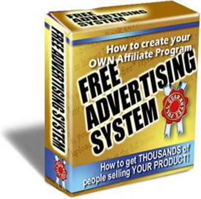 Pay for Free Advertising System Get Others To Sell Your Product FREE