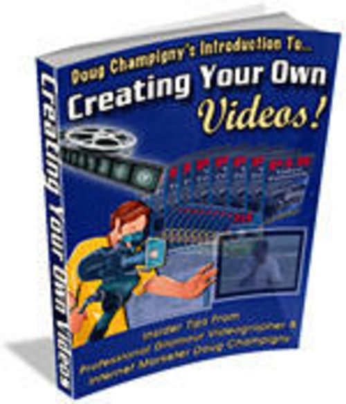 Pay for Creating Your Own Videos! + Master Resale Rights + 25 FREE Reports ( Bargain Hunter Warehouse )