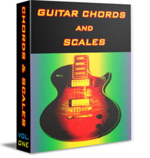 Simple Book Cover Guitar ~ Guitar chord and scale book great beginners guide