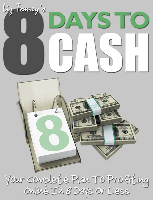Pay for 8 Days To CASH + 25 FREE Reports ( Bargain Hunter Warehouse )