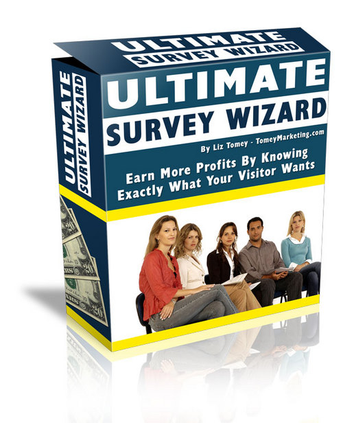 Pay for The Ultimate Survey Wizard + 25 FREE Reports ( Bargain Hunter Warehouse )