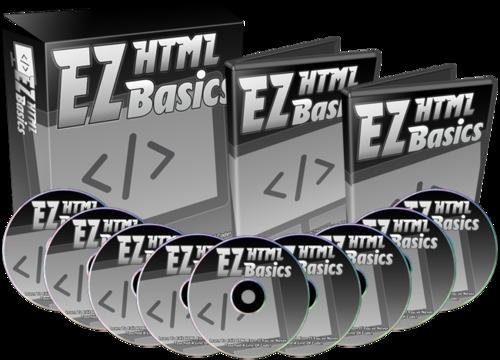 Pay for EZ HTML Basics  9 Part Video Course