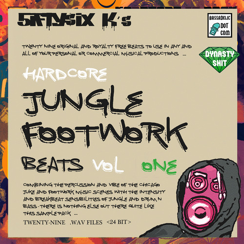 Pay for Hardcore Jungle Footwork Beats (VOL 1)