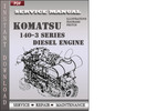 Thumbnail Komatsu 140-3 Series Diesel Engine Factory Service Repair Manual Download