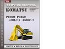 Thumbnail Komatsu PC400  PC450  400LC-7  450LC-7 Factory Service Repair Manual Download