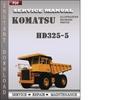 Thumbnail Komatsu HD325-5 Factory Service Repair Manual Download