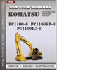 Thumbnail Komatsu PC1100-6  PC1100SP-6  PC1100LC-6  Factory Service Repair Manual Download