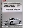 Thumbnail Dodge Neon 2000 Factory Service Repair Manual Download