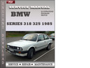 Thumbnail BMW 3 Series 318 325 1985 Factory Service Repair Manual Download