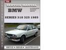 Thumbnail BMW 3 Series 318 325 1985 Factory Service Repair Manual Download