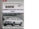 Thumbnail BMW 5 Series 525 530 535 540 1994 Factory Service Repair Manual Download