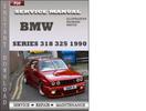 Thumbnail BMW 3 Series 318 325 1990 Factory Service Repair Manual Download