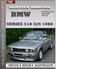 Thumbnail BMW 3 Series 318 325 1988 Factory Service Repair Manual Download