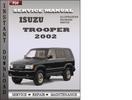 Thumbnail Isuzu Trooper 2002 Factory Service Repair Manual Download