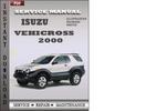 Thumbnail Isuzu Vehicross 2000 Factory Service Repair Manual Download